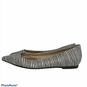 Anthropologie Seychelles Well Known Striped Flat
